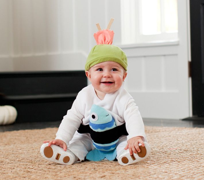 How funny is this sushi costume with a wasabi and ginger hat?!  sc 1 st  Hong Kong Housewife & Baby costumes: Pottery barn. |
