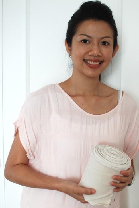 Karen Loke, Jamu Massage, Abdominal Binding